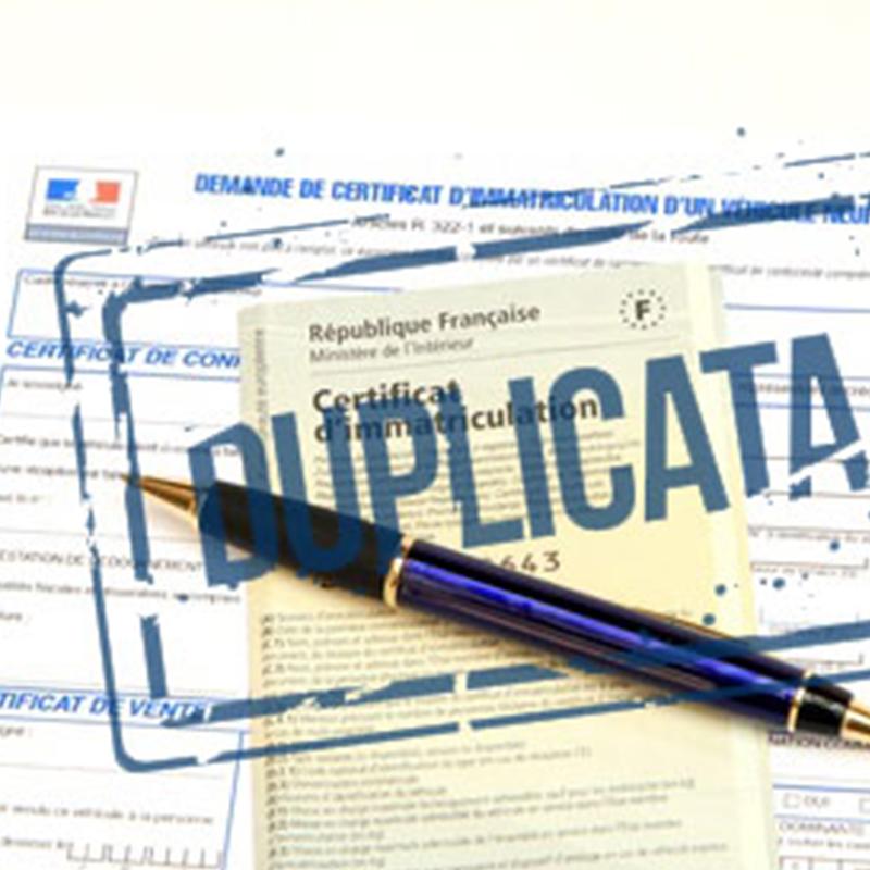 Démarches à effectuer pour demander un duplicata + documents à fournir