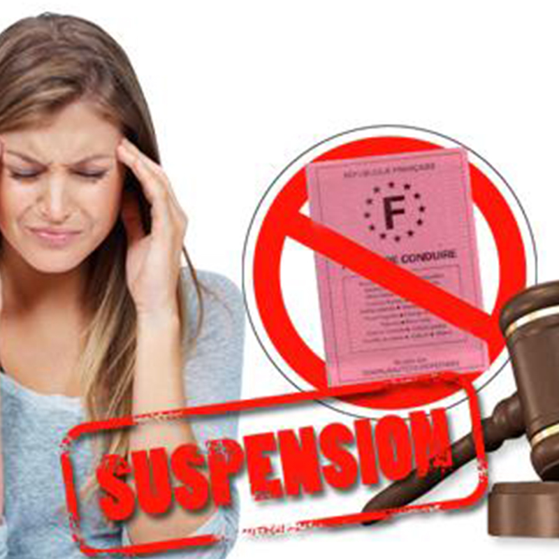 Démarches à effectuer en cas de suspension/annulation du Permis, recuperation de points + documents à fournir